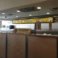 Photo taken at Which Wich? Superior Sandwiches by Kayla P. on 1/11/2013