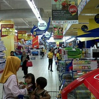 Photo taken at Hypermart by toni n. on 5/9/2013