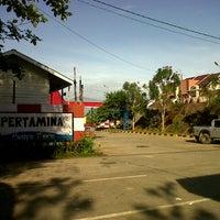 Photo taken at SPBU Pertamina by toni n. on 4/2/2013