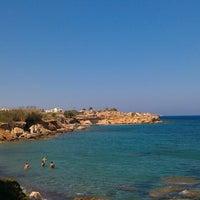 """Photo taken at Ασπρος Γκρεμος """"White Cliff"""" by Filippos on 7/29/2013"""