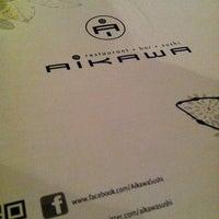 Photo taken at Aikawa Sushi by Melane1976 on 1/4/2013