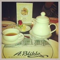 Photo taken at A. Blikle Cafe by Masha on 12/23/2012