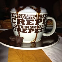 Photo taken at Crepes & Waffles by Pamela M. on 11/4/2012
