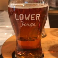Photo taken at Lower Forge Brewery & Distillery by David G. on 5/29/2017