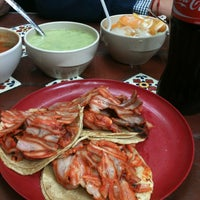 "Photo taken at Taquería La Lupita ""Ayuuk"" by Ursula on 1/18/2013"