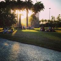 Photo taken at Jardim do MAM by Billy C. on 2/24/2013