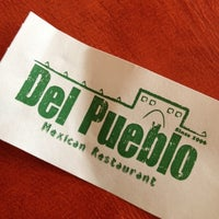 Photo taken at Del Pueblo Mexican Restaurant by BADASH on 10/10/2012