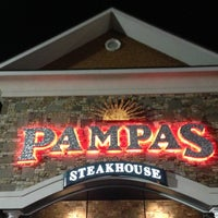 Photo taken at Pampas Argentine Steakhouse by Gaby B. on 11/22/2012