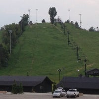 Photo taken at Cannonsburg Ski Area by Brian C. on 6/9/2013