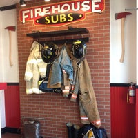 Photo taken at Firehouse Subs by Brian C. on 4/24/2013