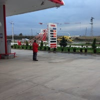Photo taken at Lukoil-Akademi Petrol by Hasan Ş. on 11/27/2013