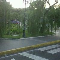 Photo taken at Plaza Las Tres Gracias by Dubraska R. on 10/28/2012