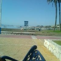 Photo taken at Playa El Candado by Paco G. on 10/27/2013