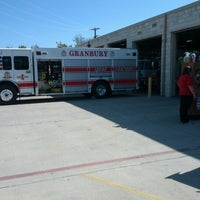 Photo taken at Granbury Fire Dept by Sean E. on 10/20/2012