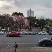 Photo taken at Praça Coronel Ernesto Bertaso by Dalton on 9/3/2013