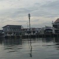 Photo taken at Pelabuhan Muara Angke by Rinsil B. on 2/1/2017