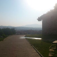 Photo taken at Yörük Ali Efe Parkı by Gürkan S. on 8/18/2013