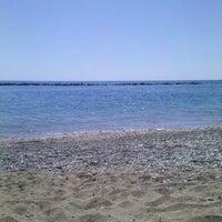 Photo taken at Municipal Beach by Kirill T. on 4/26/2013