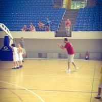 Photo taken at Sportski Centar Igalo by Kirill T. on 6/11/2014