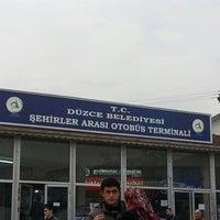 Photo taken at Düzce Şehirler Arası Otobüs Terminali by Oktay Ö. on 12/28/2012
