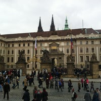 Photo taken at Prague Castle by Alyona K. on 2/28/2013