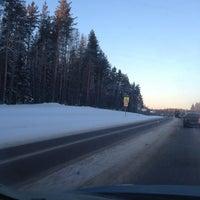 Photo taken at Трасса А-121 «Сортавала» by Артем С. on 1/21/2013