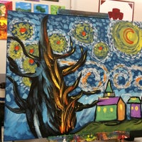 Photo taken at Phoenixville's BYOB & Paint by Julie on 7/7/2014