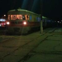 Photo taken at Железничка станица Прилеп / Prilep Train Station by Иван В. on 2/13/2013