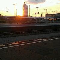 Photo taken at Gleis 12/13 by Der D. on 6/5/2013