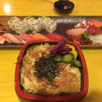 Photo taken at Murasaki Restaurant and Sushi Bar by Monica on 4/23/2014