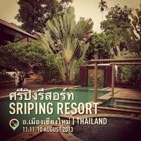 Photo taken at Sri Ping Resort by Pattanaeak R. on 8/10/2013
