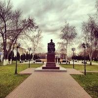 Photo taken at Памятник Екатерине II by Alex P. on 11/7/2013