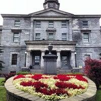 Photo taken at McGill University by John R. on 7/26/2013