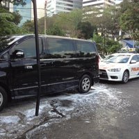 Photo taken at Car Wash Kampung Baru by Kamalul K. on 12/13/2012