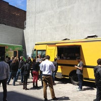 Photo taken at DUMBO Food Truck Lot by Rick V. on 4/30/2013