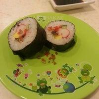 Photo taken at Sakae Sushi by Felicia A. on 5/3/2013