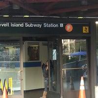Photo taken at MTA Subway - Roosevelt Island (F) by Steve D. on 4/22/2013