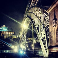 Photo taken at Ponte Dom Luís I by Paulo S. on 12/22/2012