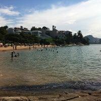Photo taken at Praia da Direita by Beto on 3/23/2013