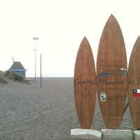 Photo taken at Playa San Antonio by Fabro G. on 4/9/2013