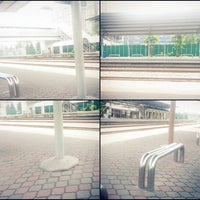 Photo taken at KTM Line - Subang Jaya Station (KD09) by Bintang A. on 12/14/2012