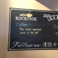 Photo taken at Rockn' Joe Coffeehouse & Bistro by amanda on 6/17/2017