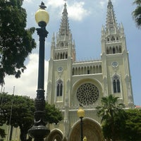 Photo taken at Catedral Metropolitana de Guayaquil by Evelyn B. on 2/23/2013