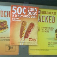 Photo taken at SONIC Drive In by Liberty A. on 10/9/2012