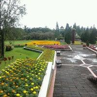 Photo taken at Taman Bunga Nusantara by wim a. on 2/17/2013