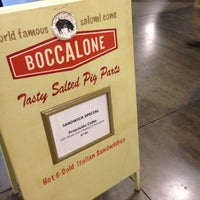 Photo taken at Boccalone Salumeria by Mary F. on 12/20/2012