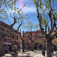 Photo taken at Piazza Del Mercato by alsim on 4/18/2014