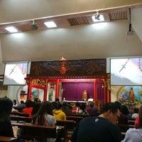 Photo taken at Gereja Santa Maria de Fatima Toasebio by Jean S. on 3/1/2017