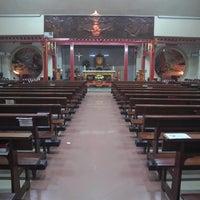 Photo taken at Gereja Santa Maria de Fatima Toasebio by Jean S. on 7/21/2013