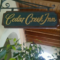 Photo taken at Cedar Creek Inn by Noel G. on 7/12/2013